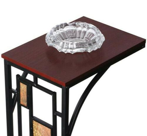 2PCS Side Snack Table Tray End Table Furniture