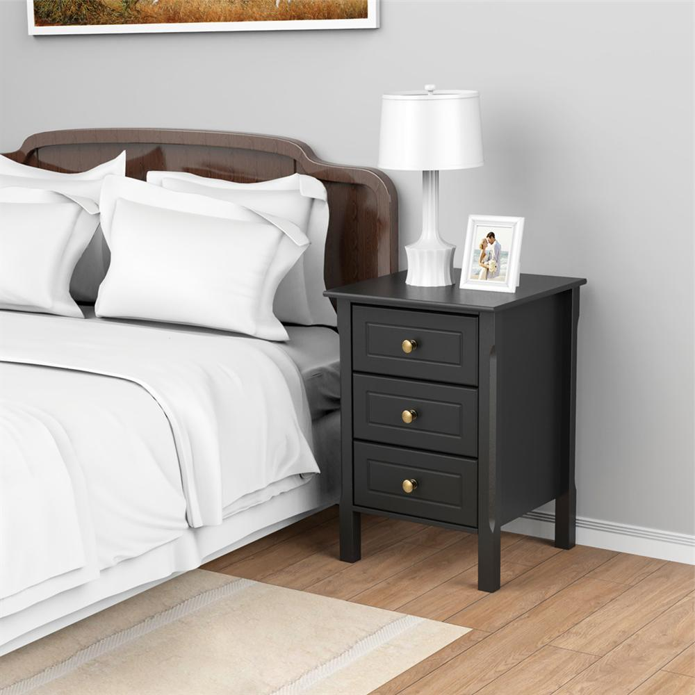 Nightstand End Bedside Table Bedroom Room