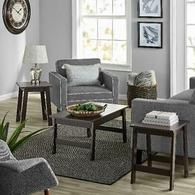3-Piece End Wood Living NEW