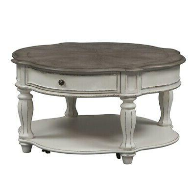3 Sofa with Round Coffee Table Side Table