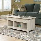Sauder 419096 Edge Water Lift-Top Coffee Table in Chalked Ch