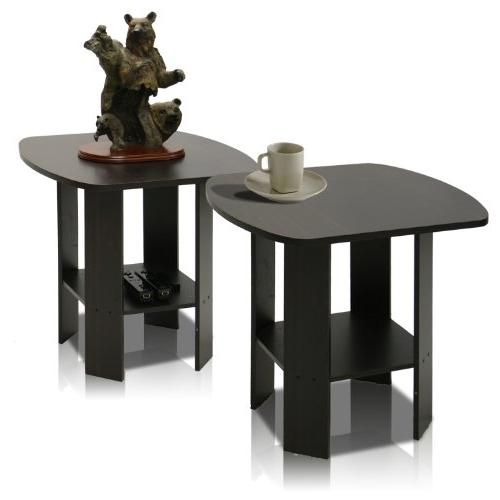 Furinno End Table Set of Two,