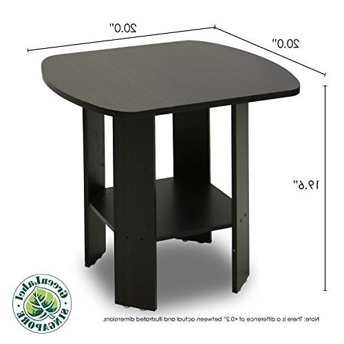 Furinno Simple End Table Two,