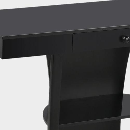 Hallway Table Accent Living Drawer Shelf