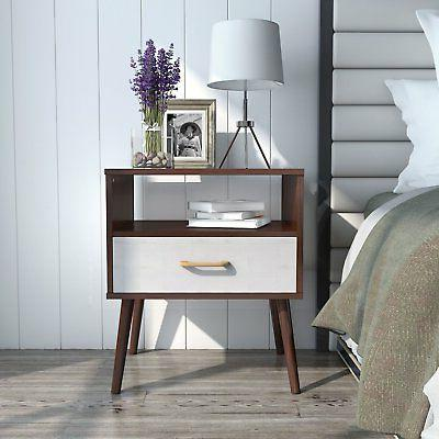 Lifewit Nightstand Side Table End Table Bedroom Living Room