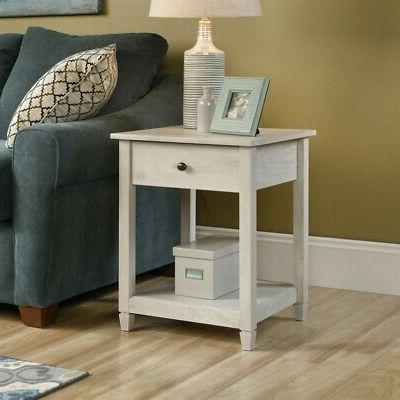"Sauder 419239 Edge Water Side Table L: 19.45"" x W: 18.50"" x"