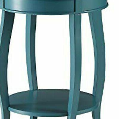 Affiable Table, Blue Blue Modern Contemporary