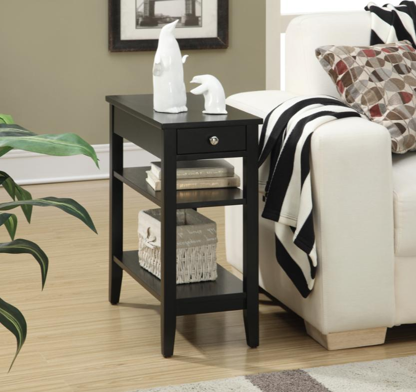 american heritage three tier end side table