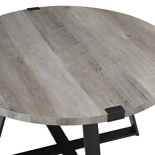 WE Furniture Table, Grey Wash