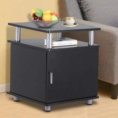 Modern Nightstands Bedside Table Sofa Chair Side End Tables