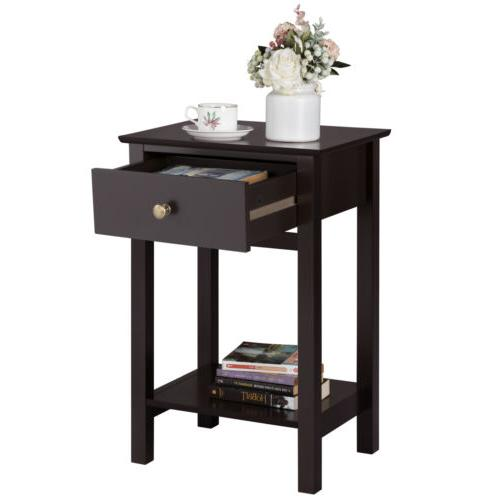 bedside table nightstand end side sofa table