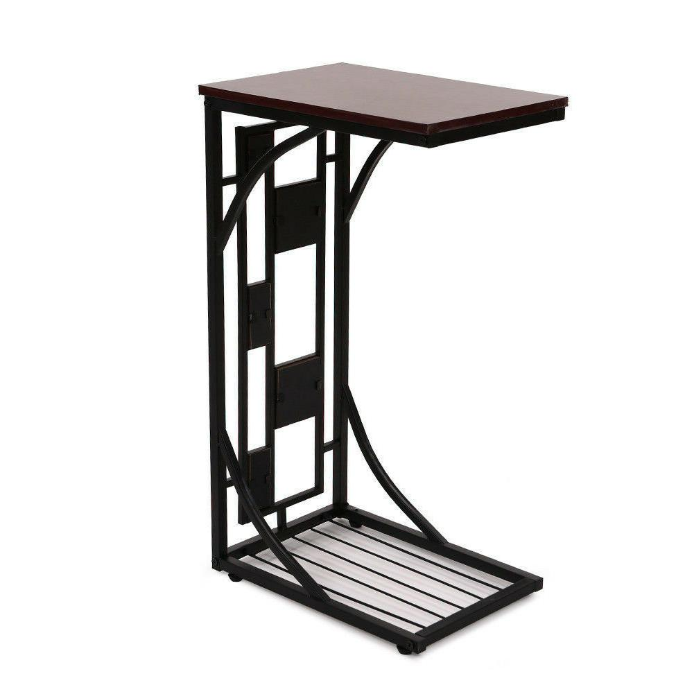C-shaped Side Sofa Snack Table Coffee End Table Room NEW