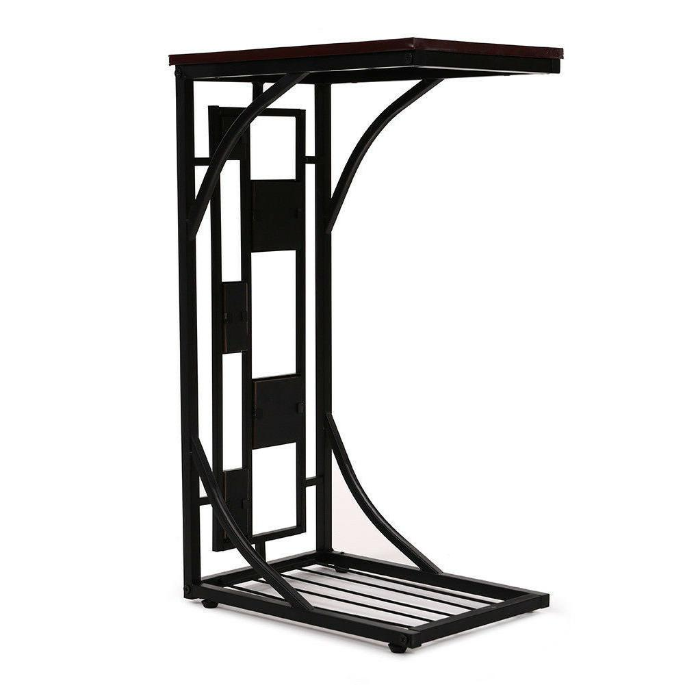 C-shaped Sofa Table Coffee End Table Room NEW