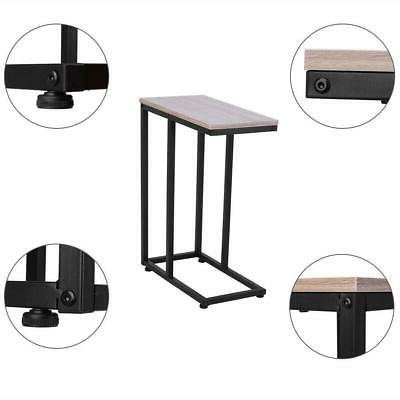 C Shaped Small End Chairside Slim Laptop