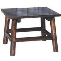 "Leigh Country Char-Log 24"" x 18"" High End Table"