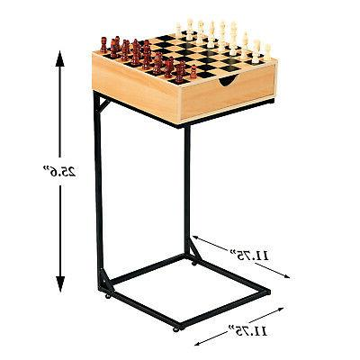 Set- Wooden Board with Stand