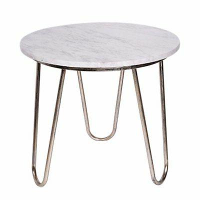 Benzara Chicly Adorning Stepney Round Side Table, One Size,