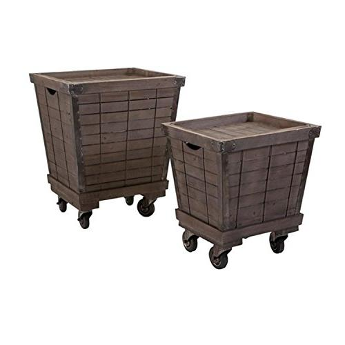 chocolate brown decorative wood rolling
