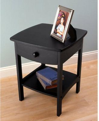 Claire Table Composite End Table Drawer Stand
