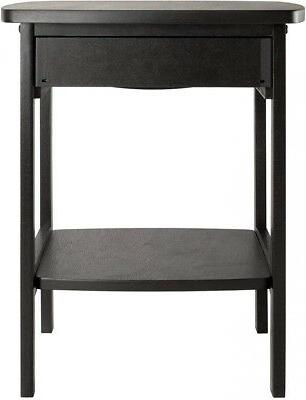 Claire Black Composite Table Drawer night