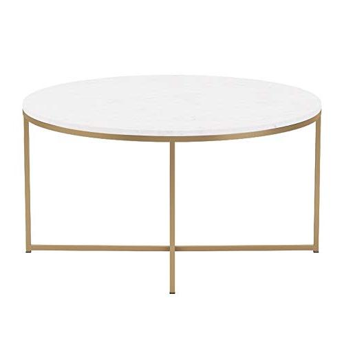 """WE 36"""" Coffee Table X-Base - Faux"""