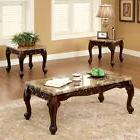 Coffee Tables And End Tables Set 3 Piece Accent Living Room