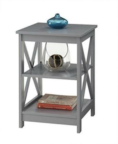 Convenience Concepts Table, Gray