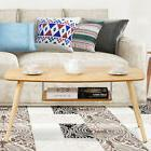 End Coffee Table For Living Room Modern w/ Storage Shelf Woo