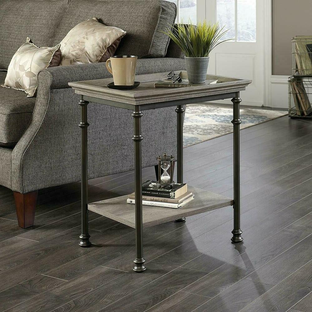 End Side Table Decorative Metal Frame Living Room Furniture