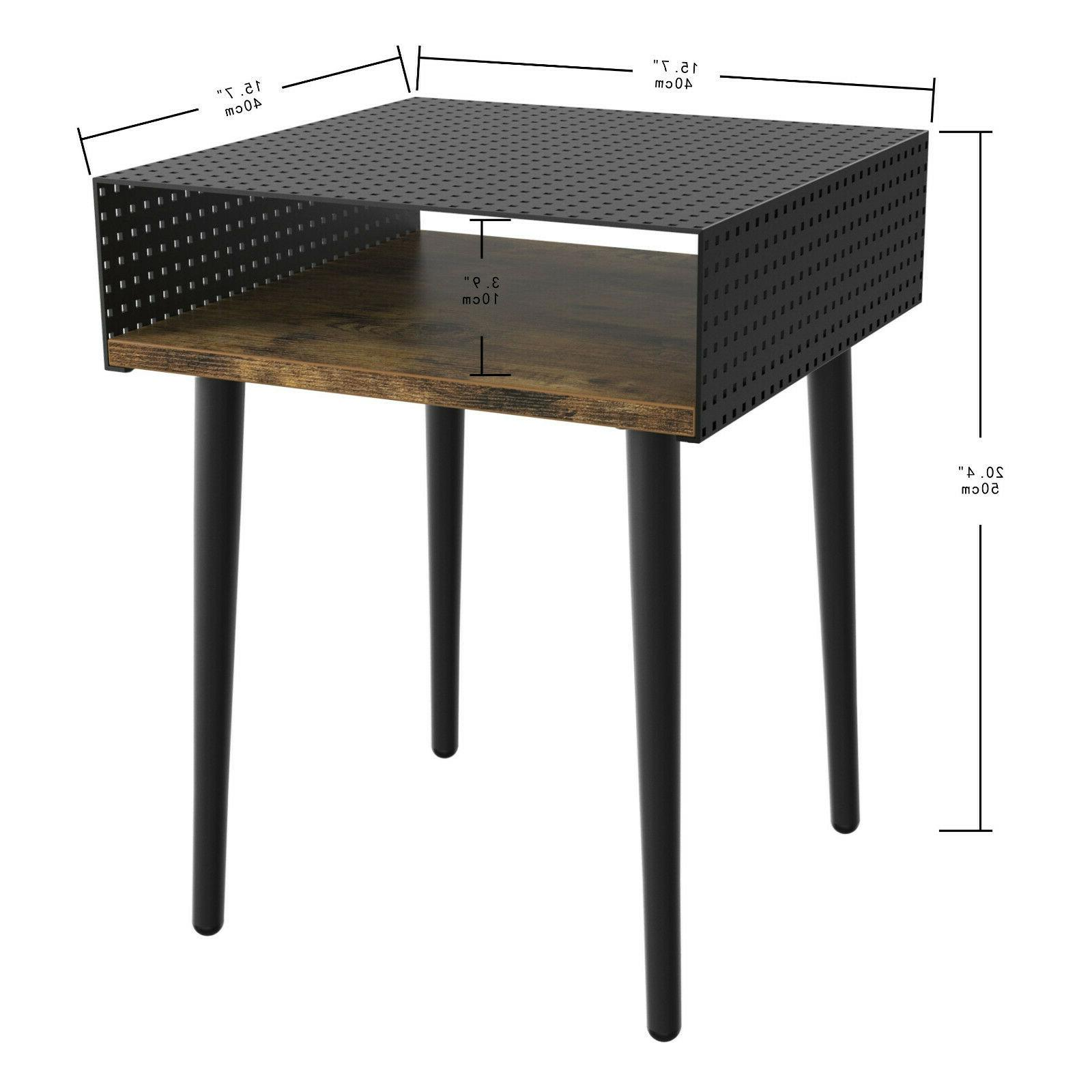 IRONCK End Room, Table Metal