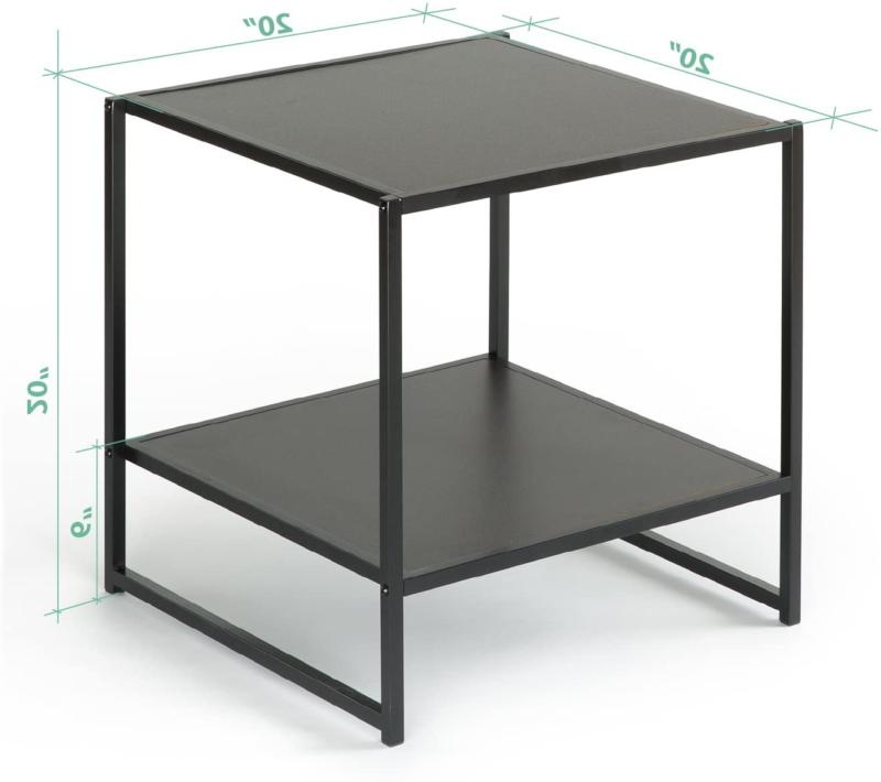 END TABLE Night Stand with ZINUS