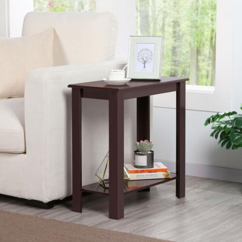 Chair Side Table Narrow End Table Side Table Slim Table
