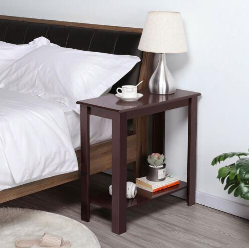 Chair Side Narrow End Table