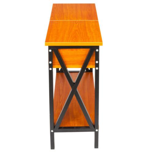 Flip End Narrow Table Stand Living Furniture