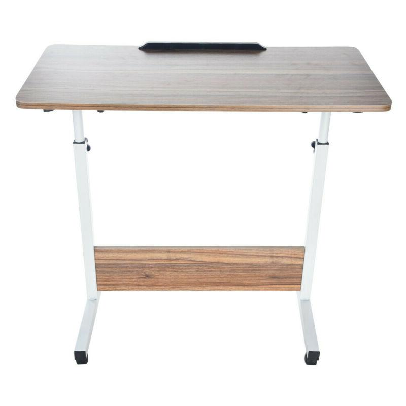 Floding Laptop PC Beside Table Tray Stand