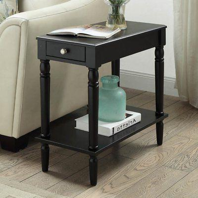french country chairside table