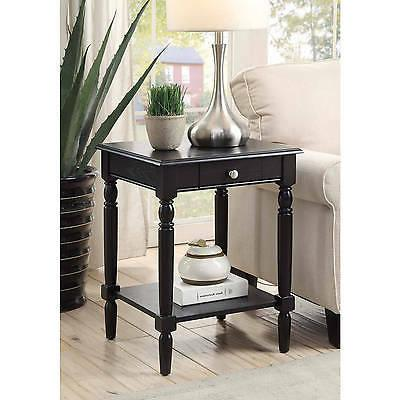 french country end table multiple finishes