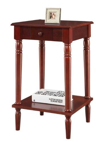 Convenience Concepts French Country End Table,