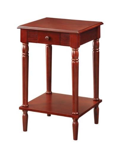 Convenience Concepts French Country End Table, Multiple Colo