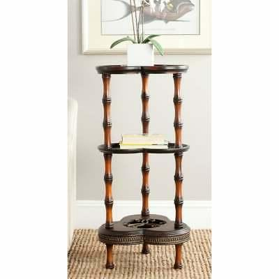 Safavieh Gloria Dark Brown Side Table - 0 Brown 0