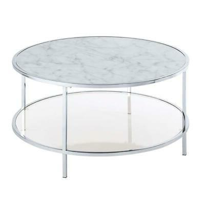 Gold Carrara Coffee Table