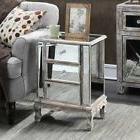 Convenience Concepts Gold Coast Vineyard Mirrored End Table