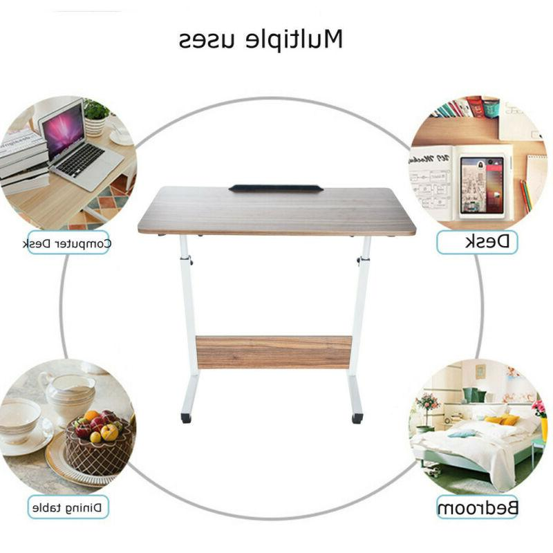 Floding Laptop PC Stand Desk Beside Tray