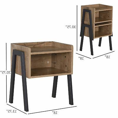 Industrial Wood Table, of 2,