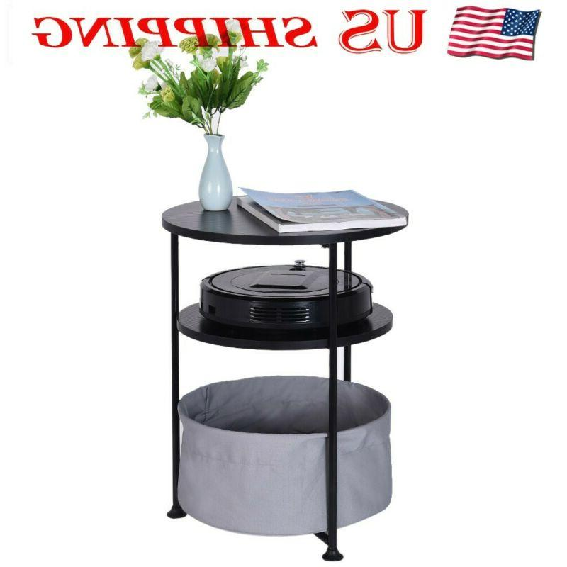 living room dining round wood side table