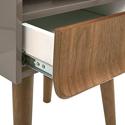 Rivet Lacquer Side Table, and
