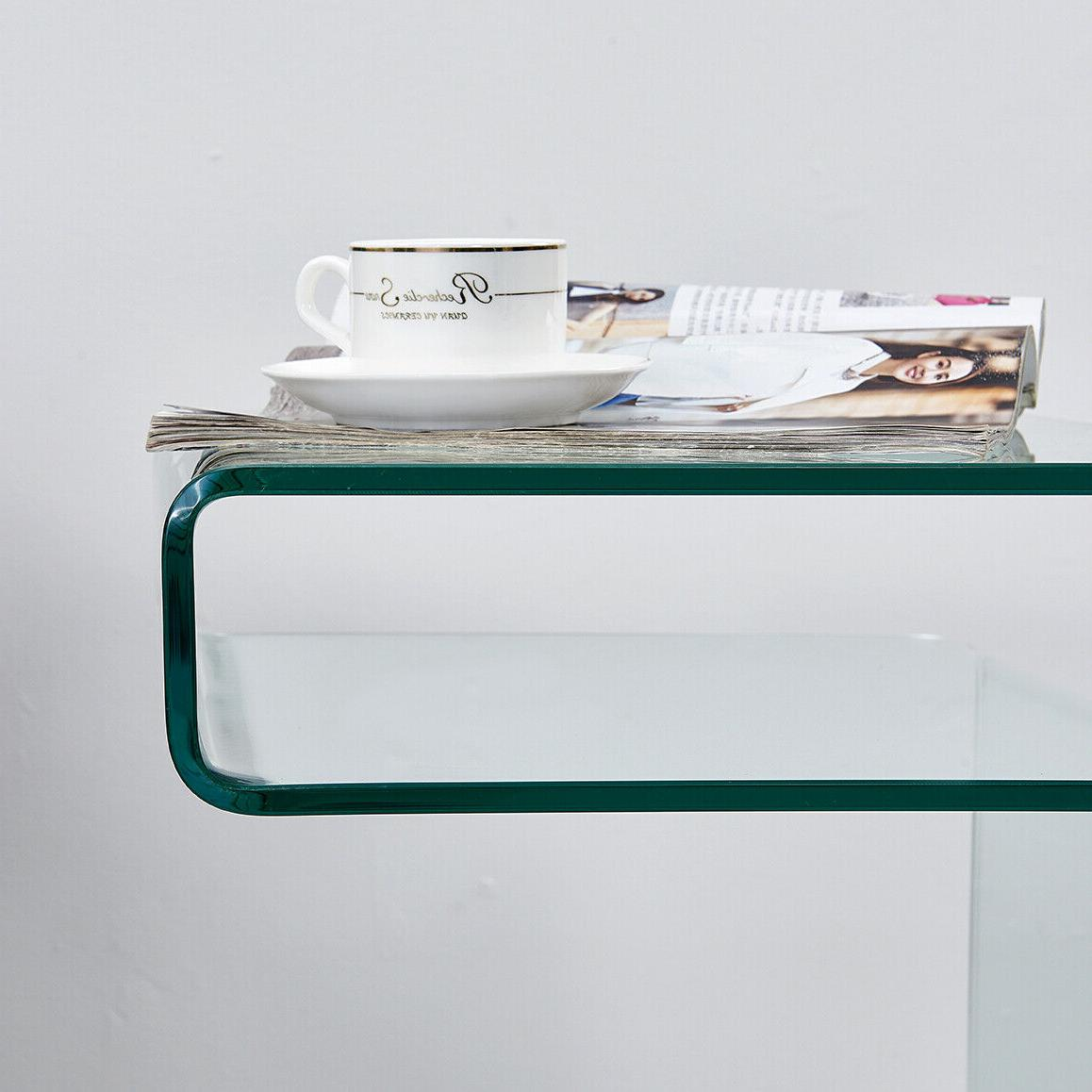 Modern Table,S-Shape Table Room Furniture,Clear