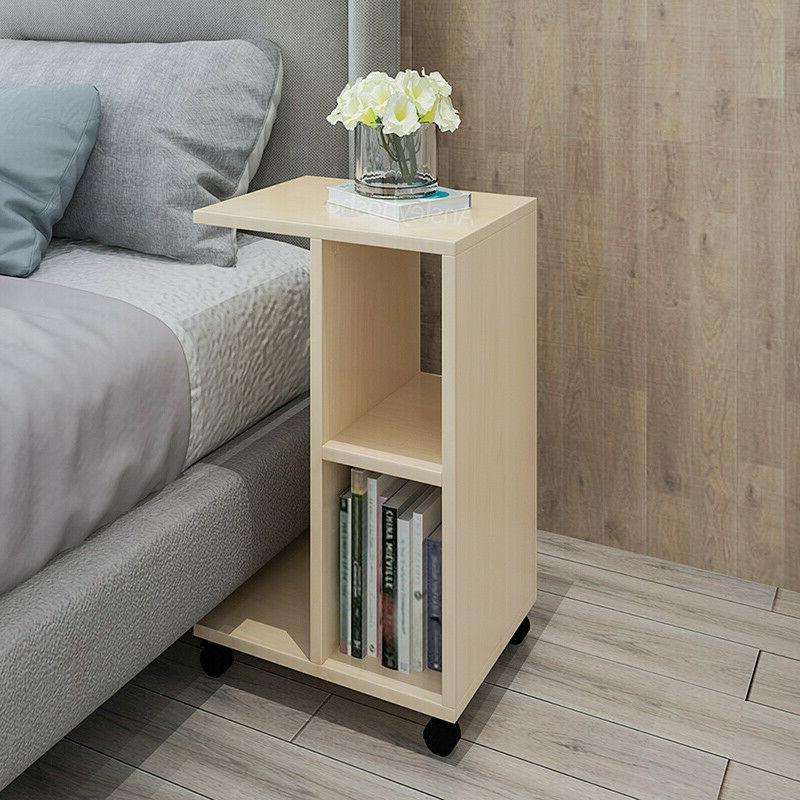 Modern Table Bed End Storage Home New