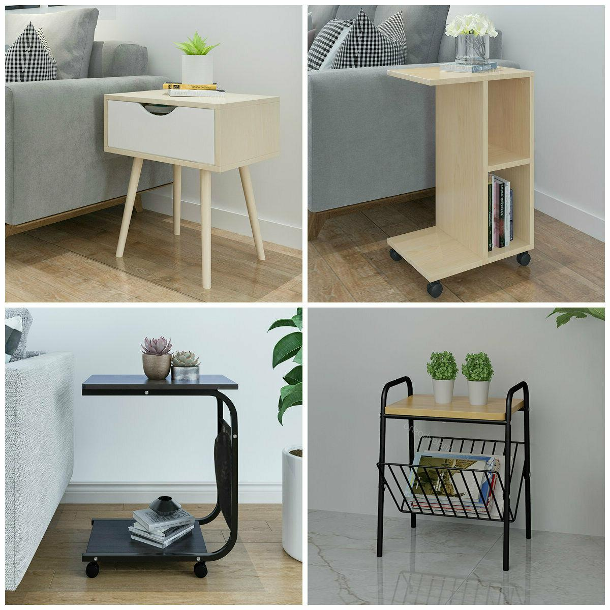 modern side table sofa bed end table