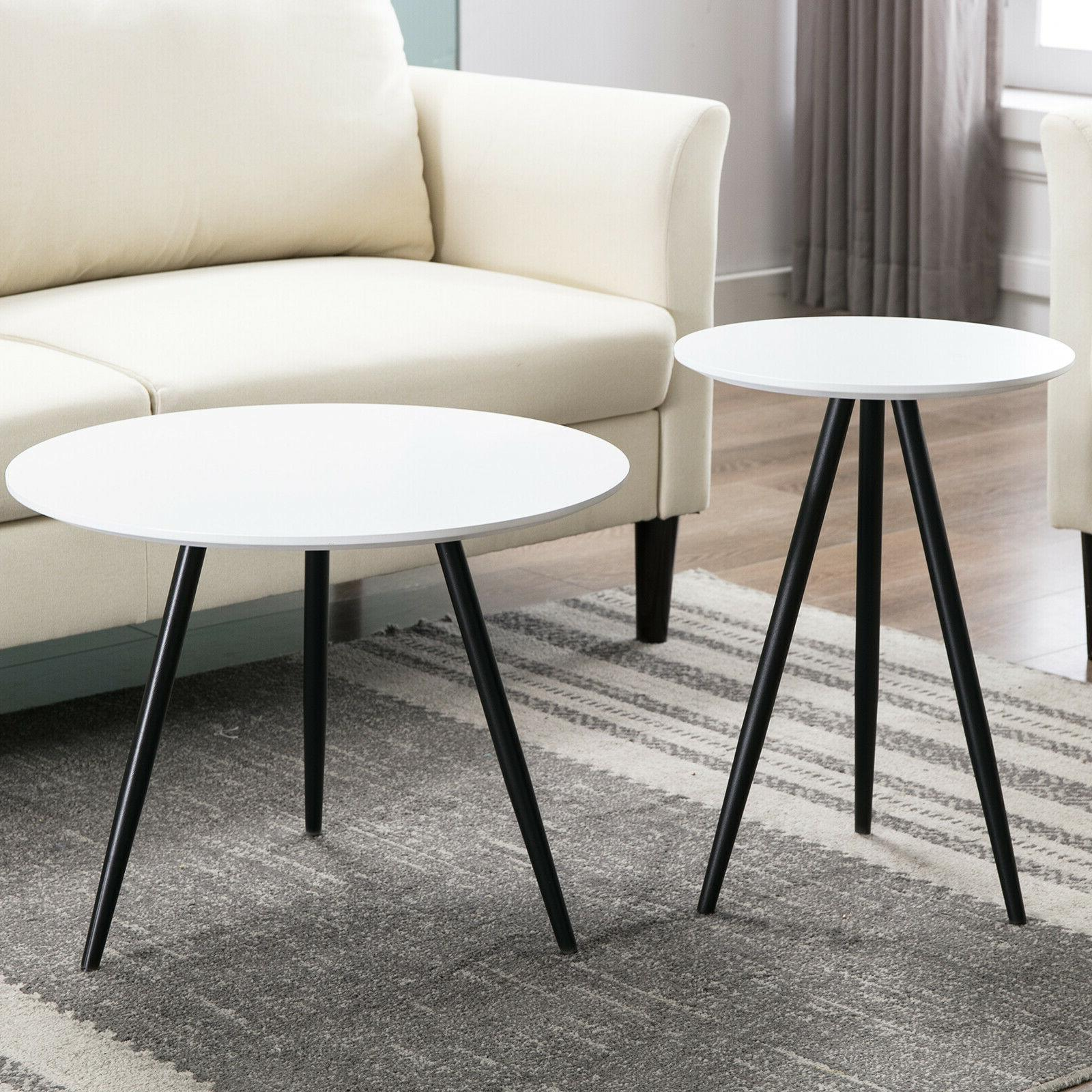 Modern Round Side Table Room
